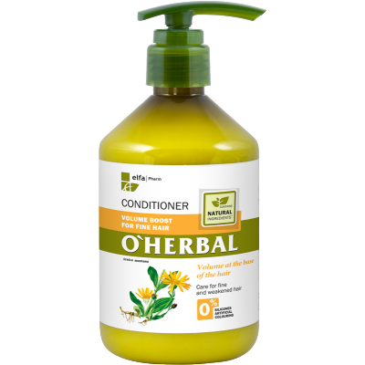 O'Herbal Volume Boost Fine Hair Arnica Extract Conditioner 500 ml