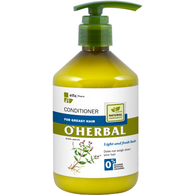 O'Herbal Greasy Hair Mint Extract Conditioner 500 ml