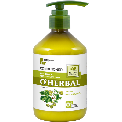 O'Herbal Curly & Unruly Hops Extract Conditioner 500 ml