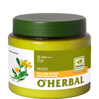 O'Herbal Volumen Boost Maske Feines Haar mit Arnika Extract 500 ml