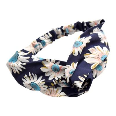 Everneed Annemone Floral  Hiuspanta Navy 1 kpl