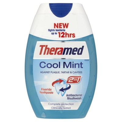 Theramed 2in1 Cool Mint Hammastahna & Suuvesi 75 ml