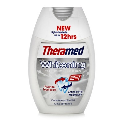Theramed 2in1 Whitening Hammastahna & Suuvesi 75 ml