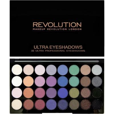 Revolution Makeup Ultra Eyeshadow Palette Mermaids Forever 16 g