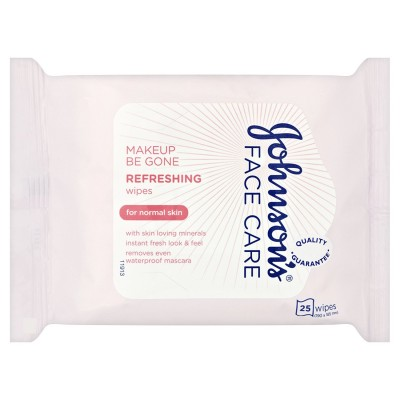 Johnson's Face Care Refreshing Wipes Normal Skin 25 stk