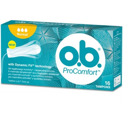 O.B. Pro Comfort Normal 16 pcs
