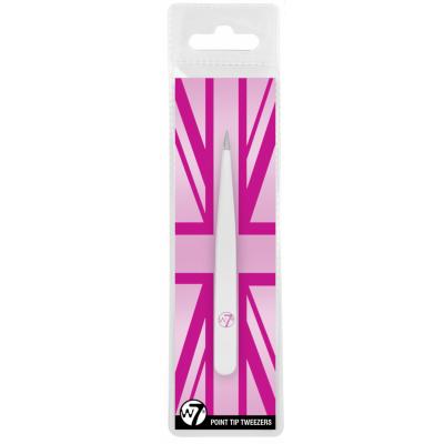 W7 Pointed Tip Tweezers 1 stk