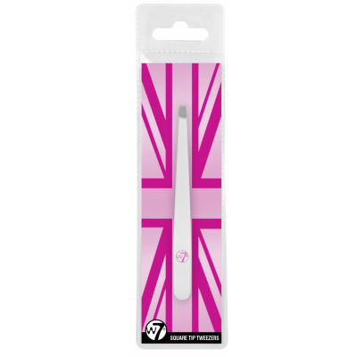 W7 Square Tip Tweezers 1 stk