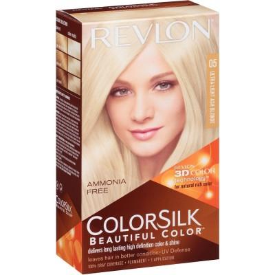 Revlon Colorsilk Permanent Haircolor 05 Ultra Light Ash Blonde 1 stk