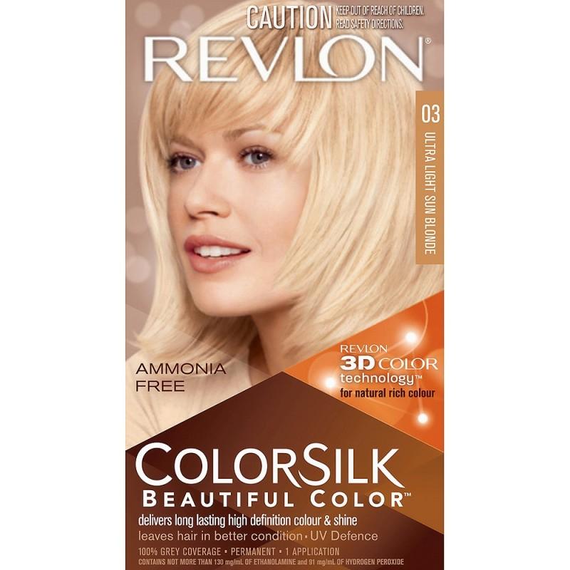 Revlon Colorsilk Permanent Haircolor 03 Ultra Light Sun