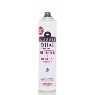 Aussie Miracle Hi-Hold + Hi-Shine Hairspray 250 ml