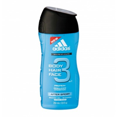 Adidas 3 in 1 After Sport Showergel 250 ml