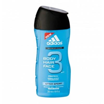 Adidas 3 in 1 After Sport Showergel 250 ml