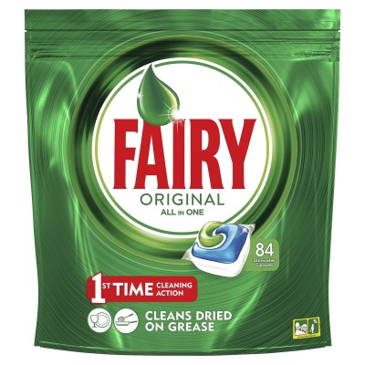 Fairy (Dreft) Original All In One Dishwasher Tabs 84 st