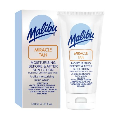 Malibu Miracle Tan Before & After Moisturising Sun Lotion 150 ml