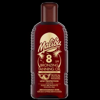 Malibu Bronzing Tanning Oil SPF8 200 ml