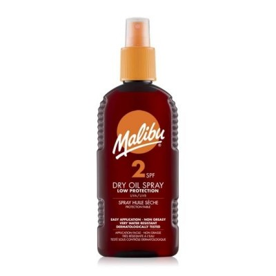Malibu Dry Oil Spray SPF2 200 ml