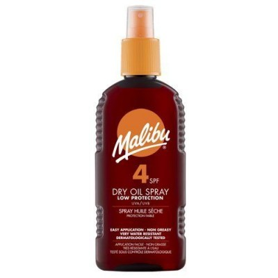 Malibu Dry Oil Spray SPF4 200 ml