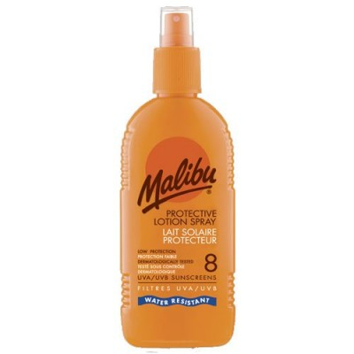 Malibu Sun Lotion Spray SPF8 200 ml