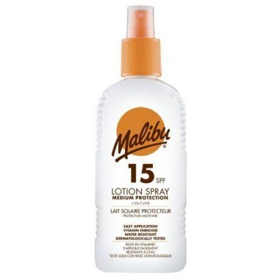 Malibu Sun Lotion Spray SPF15 200 ml
