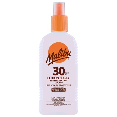 Malibu Sun Lotion Spray SPF30 200 ml