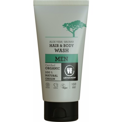 Urtekram Men Baobab 2-in-1 Shampoo & Duschgel 150 ml