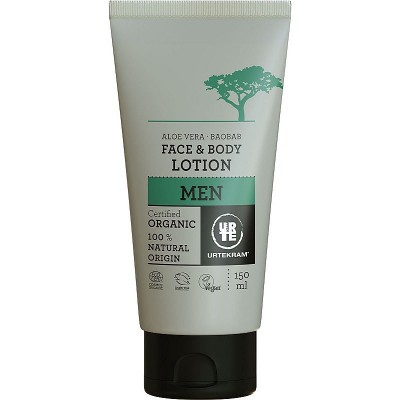 Urtekram Men Baobab Face & Body Lotion 150 ml