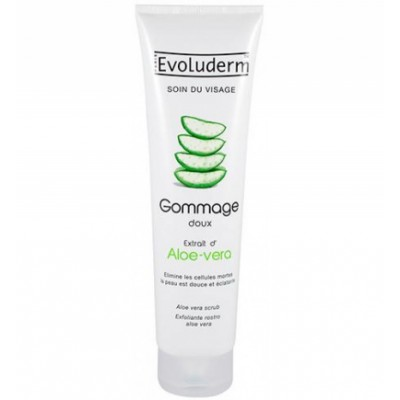 Evoluderm Aloe Vera Face Scrub 150 ml
