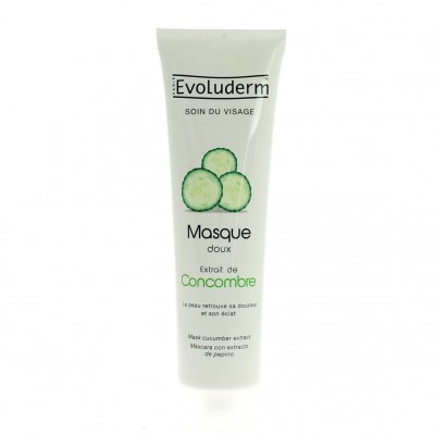 Evoluderm Cucumber Moisturizing Face Mask 150 ml