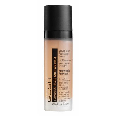 GOSH Velvet Touch Foundation Primer Anti-Wrinkle Apricot 30 ml
