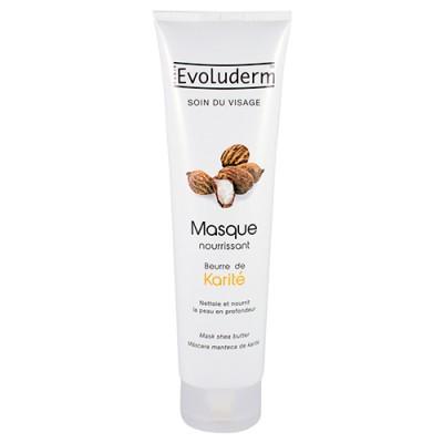 Evoluderm Shea-Butter Feuchtigkeitsspendende Gesichtsmaske 150 ml