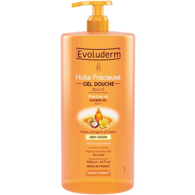 Evoluderm Precious Oils Showergel 1000 ml