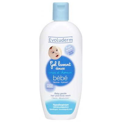 Evoluderm Baby 2in1 Hair & Body Wash 500 ml