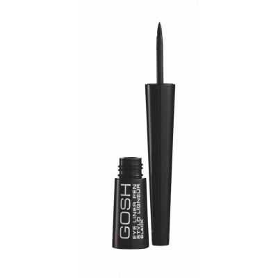 GOSH Liquid Eyeliner Pen Black 2,5 ml