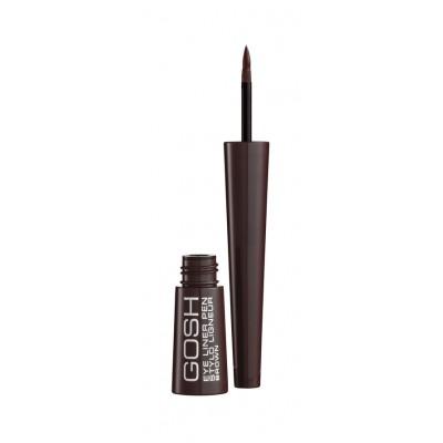 GOSH Liquid Eyeliner Pen Brown 2,5 ml
