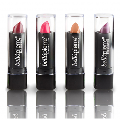 Bellápierre Cosmetics Mineral Lipstick Collection Evening 4 pcs