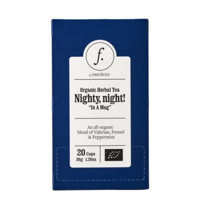 Fredsted Bio Kräutertee Nighty, Night! 36 g