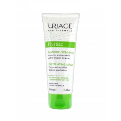 Uriage Hyséac Exfoliating Mask 100 ml
