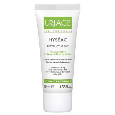 Uriage Hyséac Restructuring & Soothing Care 40 ml