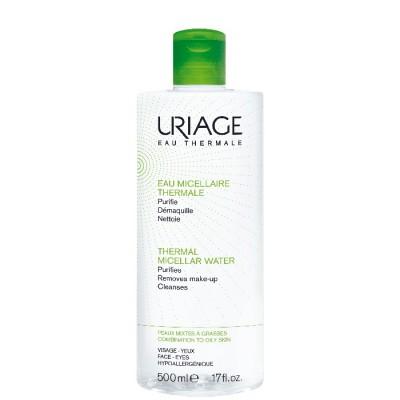 Uriage Thermal Mizellares Reinigungswasser Fettige Haut & Mischhaut 500 ml
