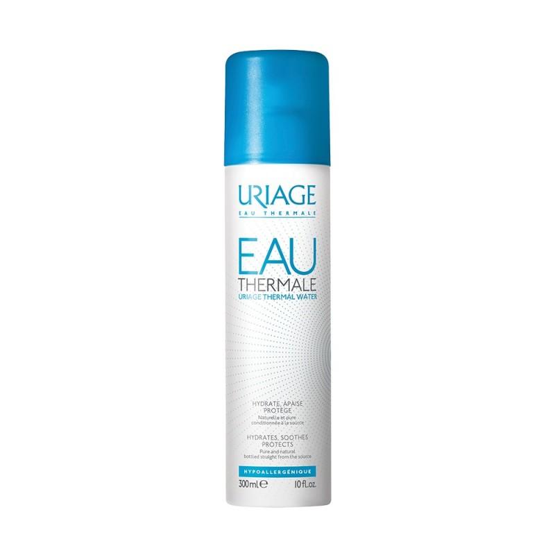 Has small Facial spring thermal water