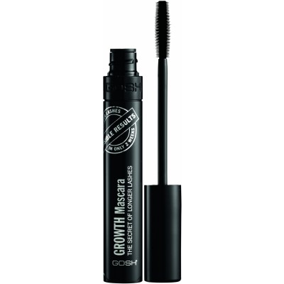 GOSH Growth Mascara The Secret Of Longer Lashes Black 10 ml