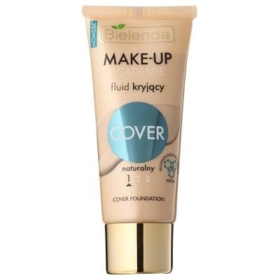 Bielenda Make-Up Academie Cover Foundation 1 Natural 30 g