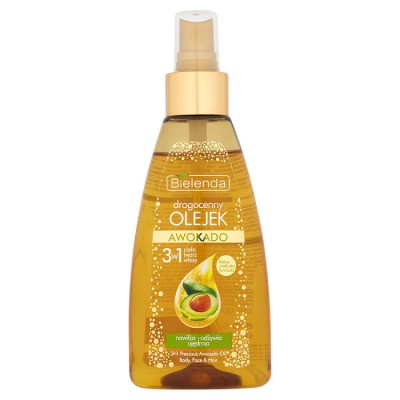 Bielenda Avocado 3in1 Argan Face & Body & Hair Oil 150 ml