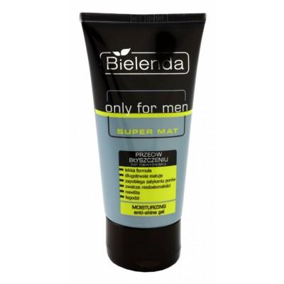 Bielenda Only For Men Anti-Glanz Feuchtigkeitsgel 50 ml
