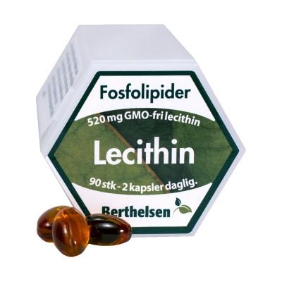 Berthelsen Lecithin 520 mg 90 kapsler