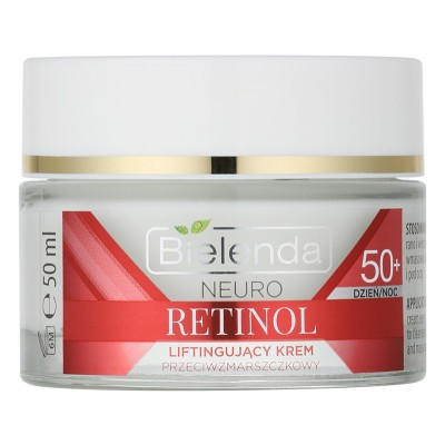 Bielenda Neuro Retinol Lifting Anti-Wrinkle Face Cream 50+ 50 ml