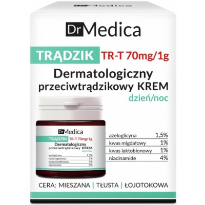 Dr. Medica Dermatological Anti-Acne Face Cream 50 ml