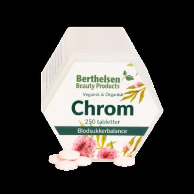Berthelsen Chrom 62,5 mcg - Groente 250 tablets