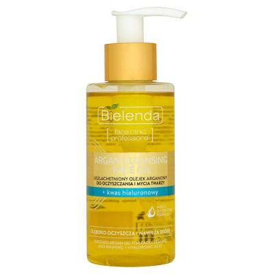 Bielenda Argan Cleansing Face Oil With Hyaluronic Acid 140 ml